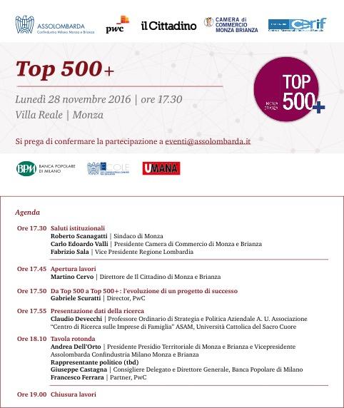 Top 500+